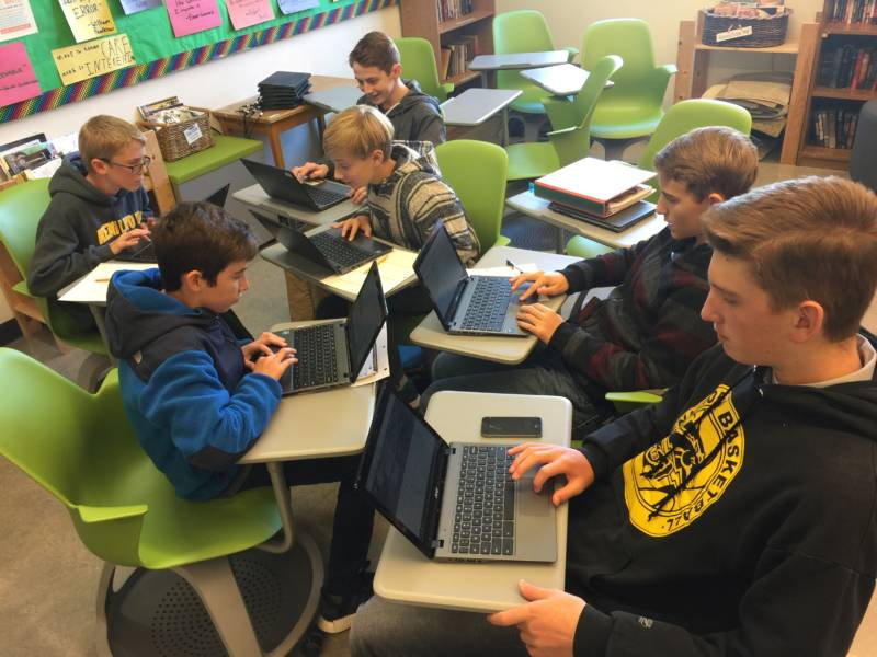 Coding In English Class Yes And In Your Class Too Kqed Education