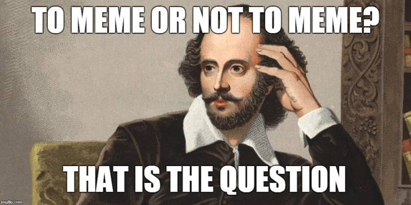 To Meme or Not to Meme? Using Memes to Teach Media Literacy Skills | KQED