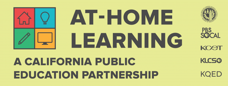 At-Home Learning: A California Public Education Partnership