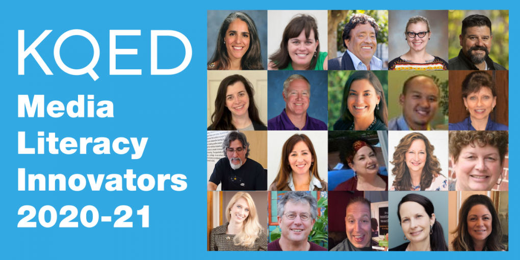 Meet the 2020-2021 KQED Media Literacy Innovators | KQED Education