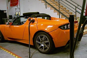 The Tesla Roadster is an all-electric sports car you can buy today.