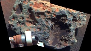 Mars Rock Talks, Opportunity Listens