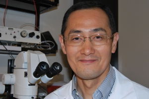 Dr. Shinya Yamanaka, stem cell researcher at the Gladstone Institutes, in San Francisco, won the 2012 Nobel Prize in medicine.