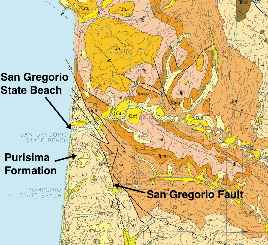 california fault map with Greater Bay Area Geo Attractions San Gregorio Beach on San Fernando Valley Map additionally Botec sanandreas also 4 07 geo Soils also Cotton Boll Early Oct 2012 1 additionally Hike The San Andreas Fault.