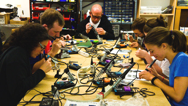 Science on the SPOT: Open Source Creativity - Hackerspaces