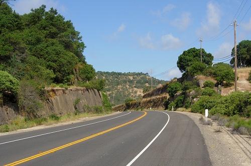 cordelia fault roadcut