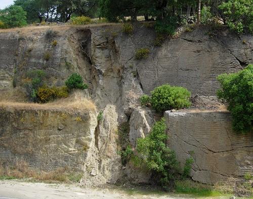 cordelia fault trace