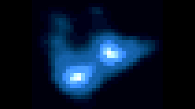 Chandra X-ray image of quasar APM8+5255