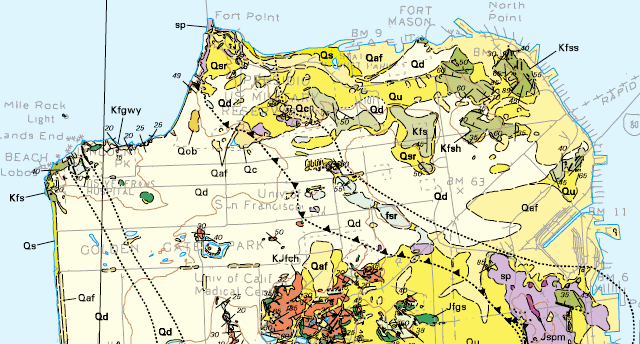 Access To Geologic Maps The Landscapes Hidden Rooms QUEST - California geologic map