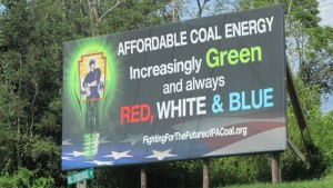 coal billboard