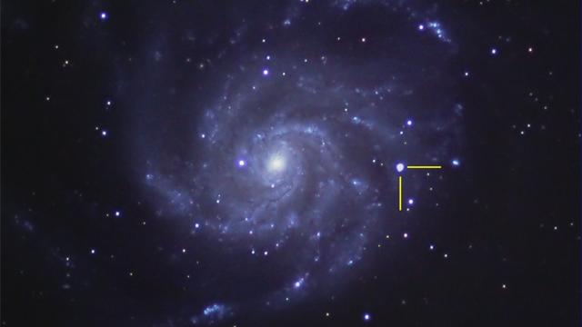 Supernova 2011fe in M-101
