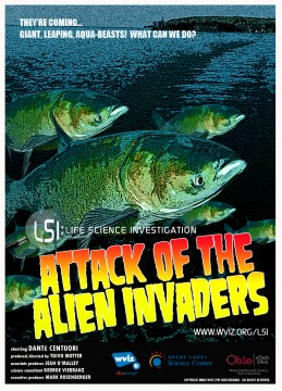 """Attack of the Alien Invaders,"" produced by WVIZ/PBS, was first created as an educational series called ""LSI: Life Science Investigation."""