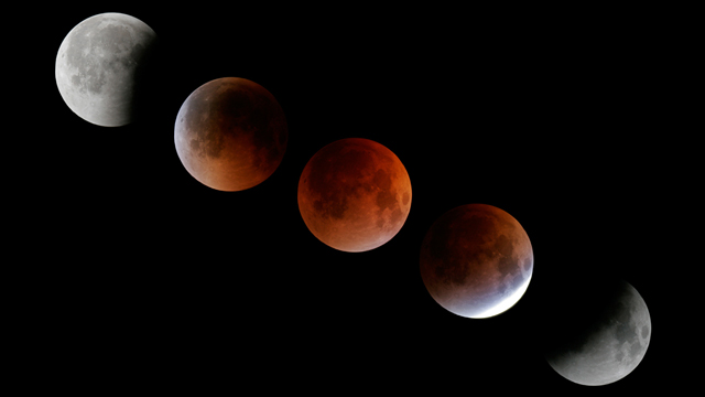 Total Lunar Eclipse 08-28-07. Credit: Conrad Jung