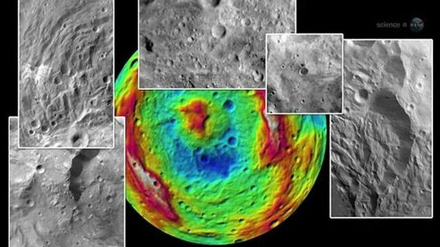 Asteroid Vesta - Images from the Dawn Spacecraft