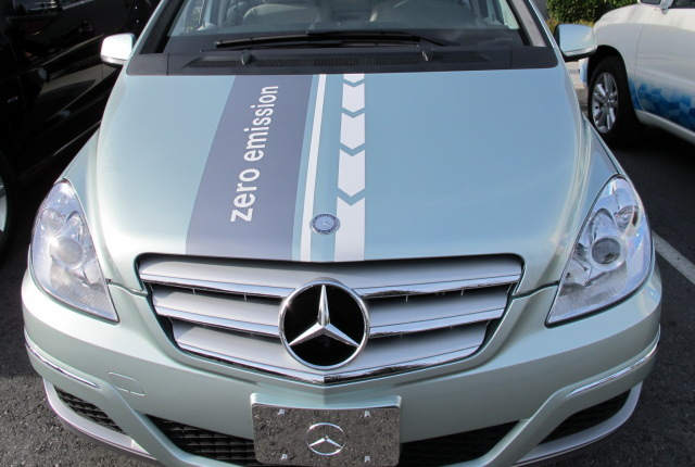 Mercedes Fuel-Cell car for 2014