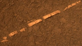 A Most Earthly Mineral on Mars