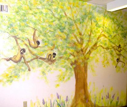 Kaiser Pediatrics Mural by Ellen Joseph