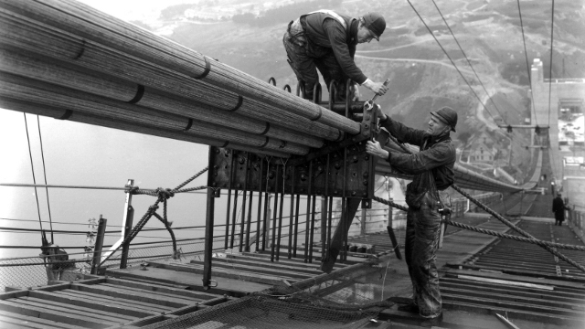Life on The Gate: Working on the Golden Gate Bridge 1933-37