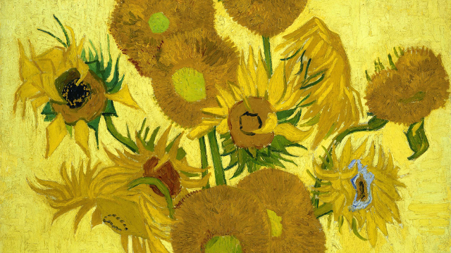 Vincent van Gogh - Sunflowers - 1889