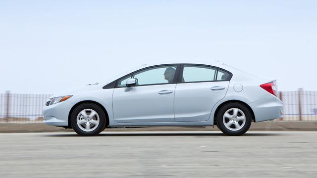 Beautiful 2012 Honda Civic Natural Gas