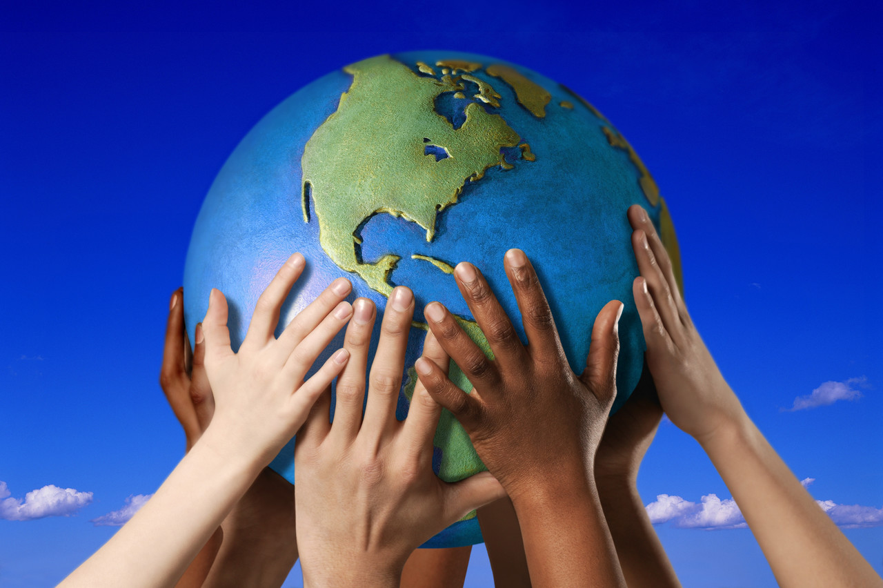 Earth in our hands for the future