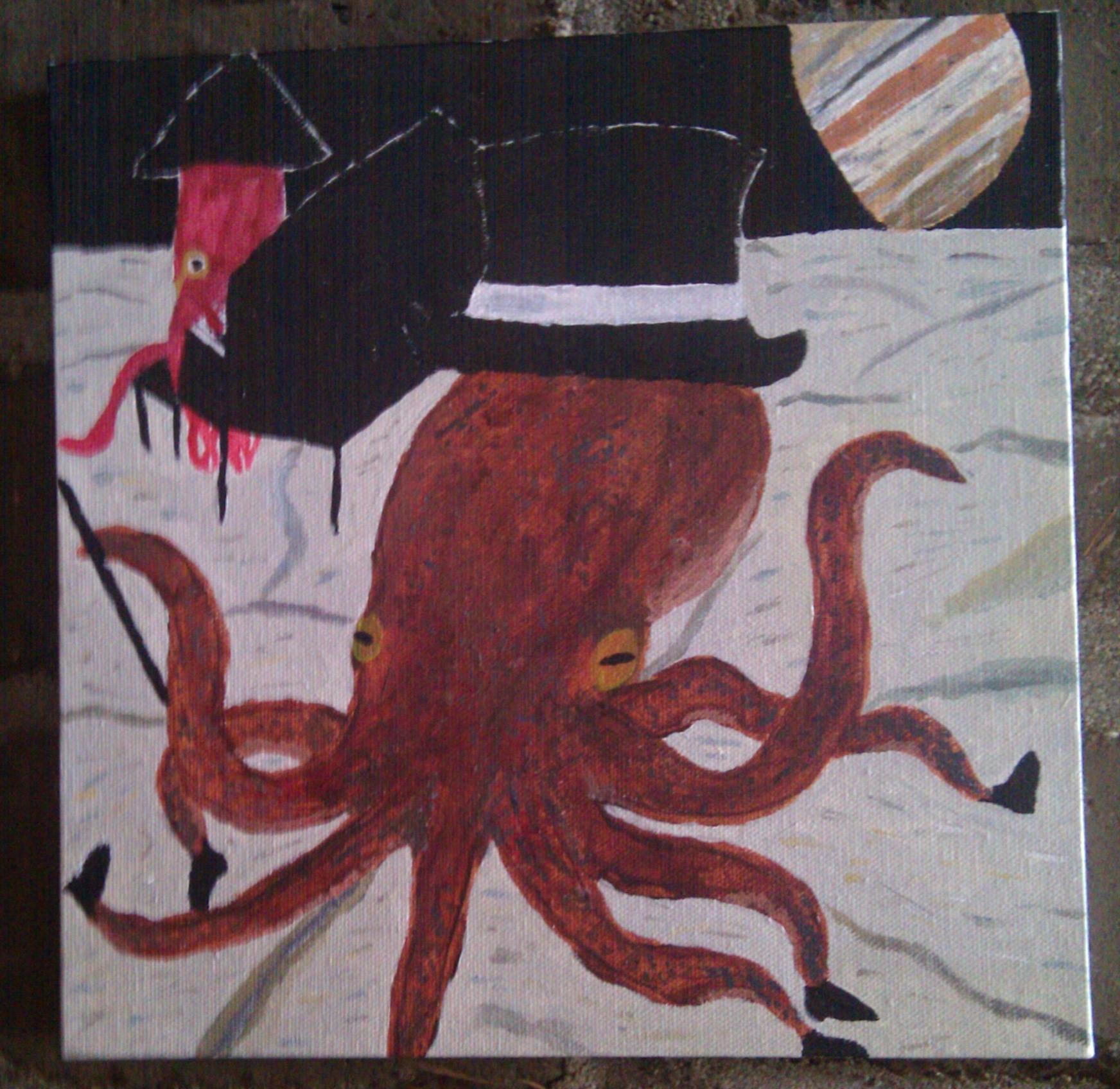 Tap-Dancing Octopus - Hannah Rosen - Hopkins Art Show 2012