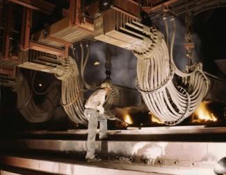 1942 smelting furnace.