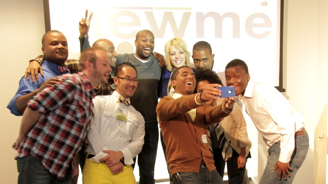 The 2012 NewME founders (Photo by Josh Cassidy)