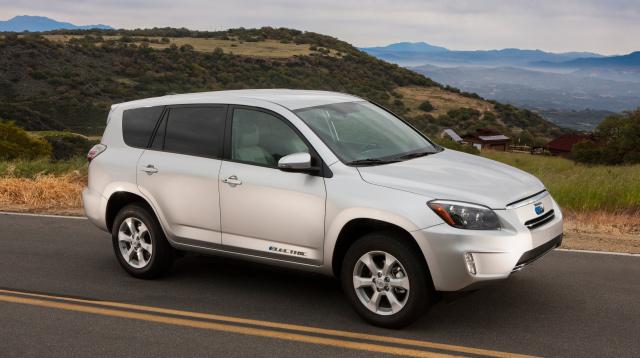 2012 Toyota Rav4 EV. Credit: Toyota