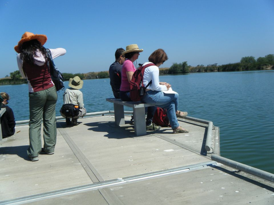 A quiet moment of reflection during Nature Journaling at Coyote Hills