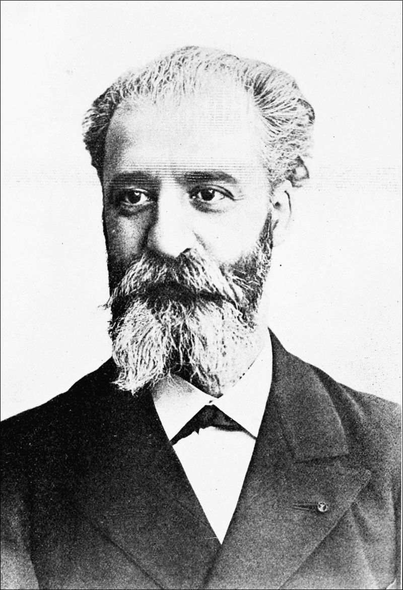Henri Moissan, 1906 Nobel Laureate in part for synthesizing fluorine gas.