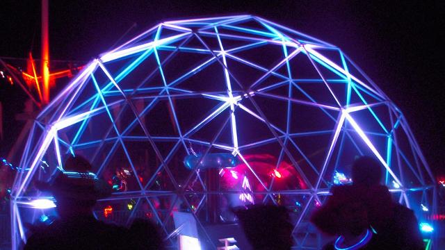 The Bay Area Thanks Buckminster Fuller for Geodesic Domes