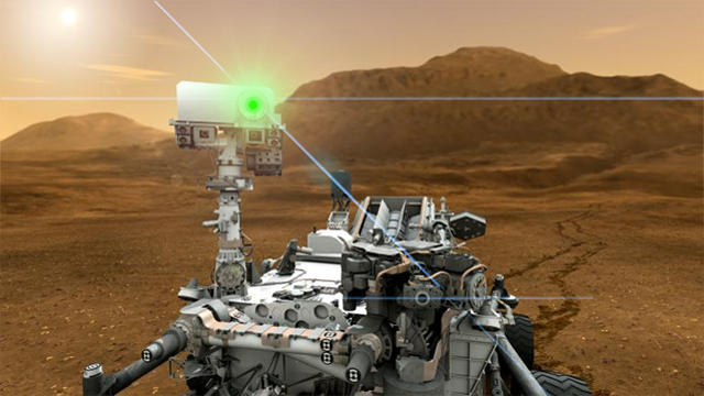 NASA's Mars Science Laboratory and ChemCam