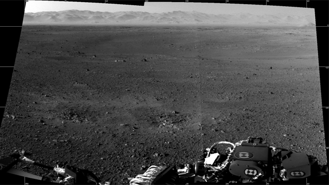 "View from NASA's MSL ""Curiosity"" Rover"