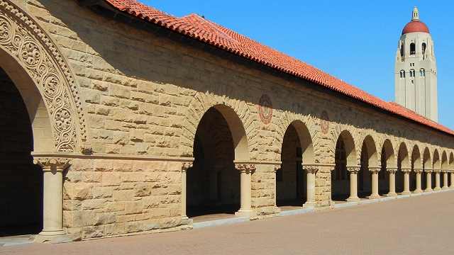 Building Sand Stone : Stanford s signature sandstone quest kqed science