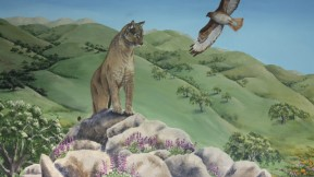 California Wildlife Mural Celebrates Its Third Birthday