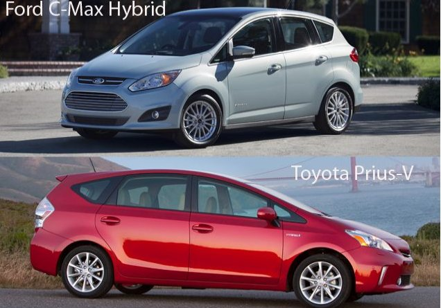 ford's c-max takes on the toyota prius | clean car diaries | quest