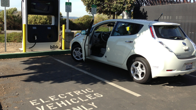Growing Pains for California's Electric Car Charging Network