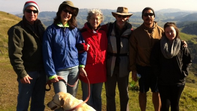 Hiking in the New Year at Sibley Volcanic Preserve