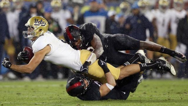 Stanford vs. UCLA. Photo:  Ezra Shaw/Getty Images