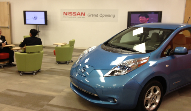 Nissan Silicon Valley Lab Opening