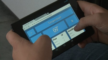 CU_Home Automation_tablet control