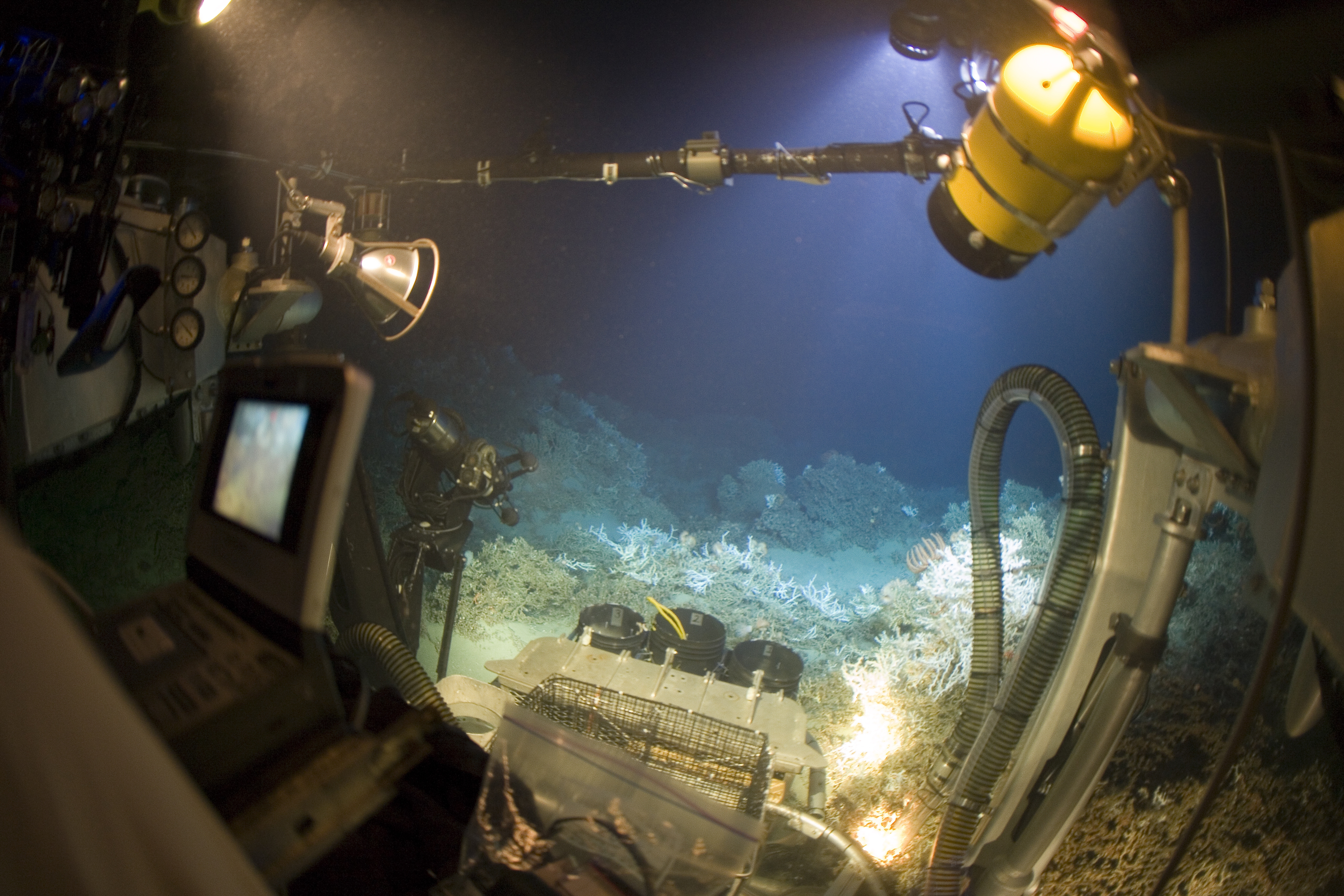 deep sea mining Minerals trapped at the bottom of the ocean may be mining's next frontier but retreiving them could be expensive, economically and environmentally.