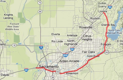 Geological Side Trips from Interstate 80: Through Folsom to Loomis ...
