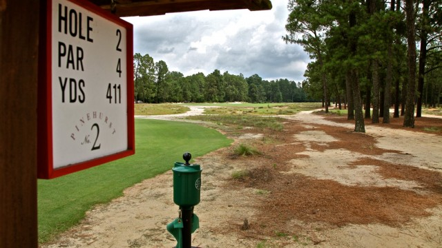 North Carolina's Pinehurst Resort, home to the 2014 U.S. Open golf tournament, has reduced it's irrigated acreage by nearly 50 percent.  All photos by David Huppert
