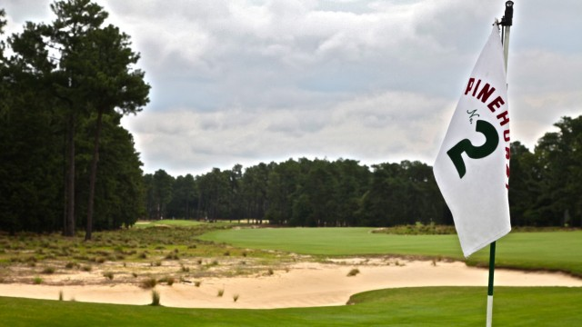 Pinehurst No. 2 eliminated its manicured rough areas and is now a member of the U.S. Fish and Wildlife Service Safe Harbor Program.