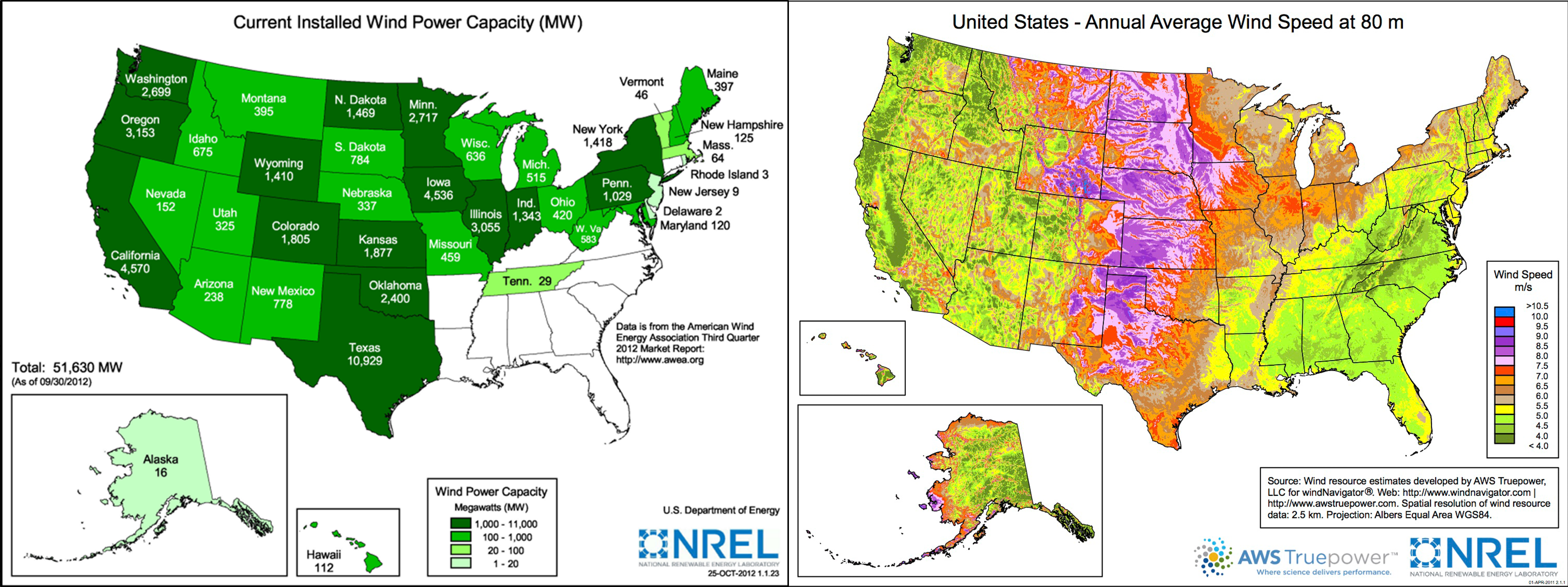 wonderful wind energy map 2000 generation capacity in the us has