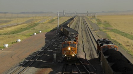 coal train BNSF export Portland Seattle