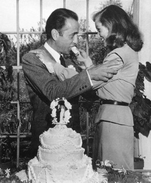 Malabar Farm hosted the wedding of Hollywood stars Humphrey Bogart and Lauren Bacall. Credit: Malabar Farm Archives