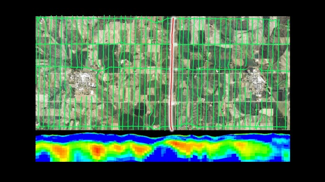 SkyTEM mapping produces colorful displays of aquifers.